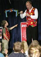 Children's Magician in Plymouth, Devon - Billy Wiz