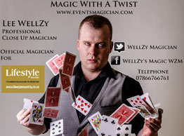 Magician in Liverpool, Merseyside - Lee WellZy